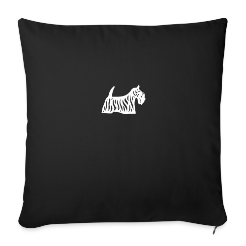 Founded in Scotland alternative logo - Sofa pillow cover 44 x 44 cm