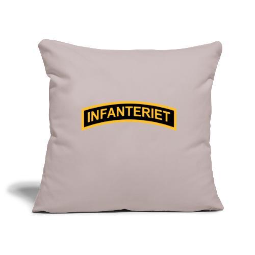 INFANTERIET 2-färg båge - Soffkuddsöverdrag, 45 x 45 cm