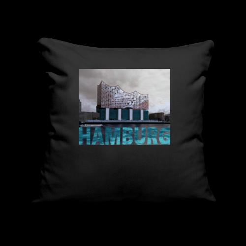 Elbphilharmonie | HAMBURG-Typo| Künstlermotiv - Sofakissenbezug 44 x 44 cm