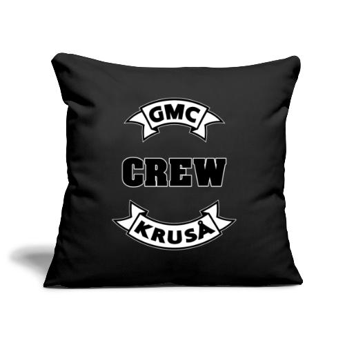 GMC CREWSHIRT - KUN FOR / CREW MEMBERS ONLY - Pudebetræk 45 x 45 cm