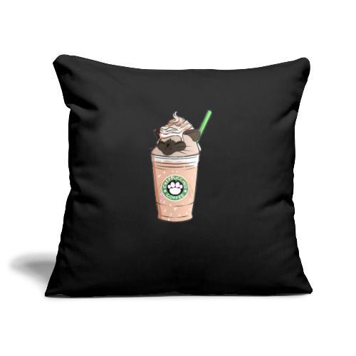 Catpuccino bright - Sofa pillowcase 17,3'' x 17,3'' (45 x 45 cm)