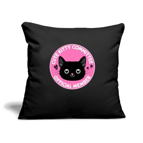 Kitty Committee - Sofa pillowcase 17,3'' x 17,3'' (45 x 45 cm)