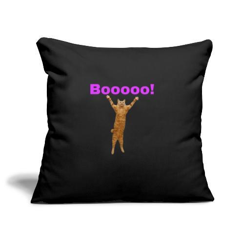 Cat scared - Sofa pillowcase 17,3'' x 17,3'' (45 x 45 cm)