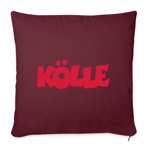 Köln Kölle für Kölnerinnen und Kölner - Sofakissenbezug 44 x 44 cm