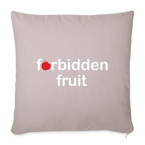 Forbidden fruit - Funda de cojín, 45 x 45 cm