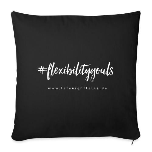 #flexibilitygoals - WHITE - Sofakissenbezug 44 x 44 cm