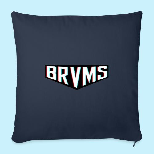 BRVMS Logo Design - Housse de coussin décorative 45x 45cm