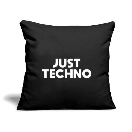 Just Techno - Sofakissenbezug 44 x 44 cm