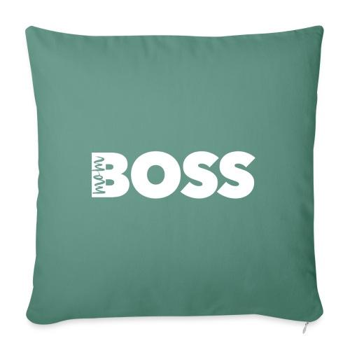Mom Boss - Sofakissenbezug 44 x 44 cm