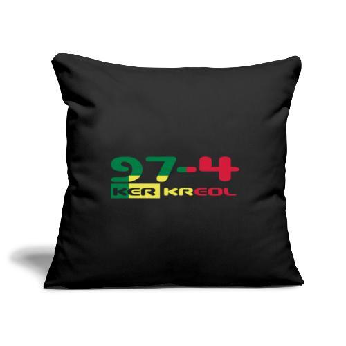 974 ker kreol Rastafari - Housse de coussin décorative 45x 45cm