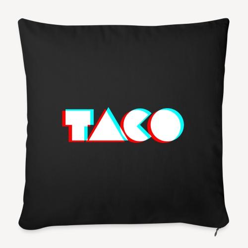 Taco Logo NoBG png - Sierkussenhoes, 45 x 45 cm