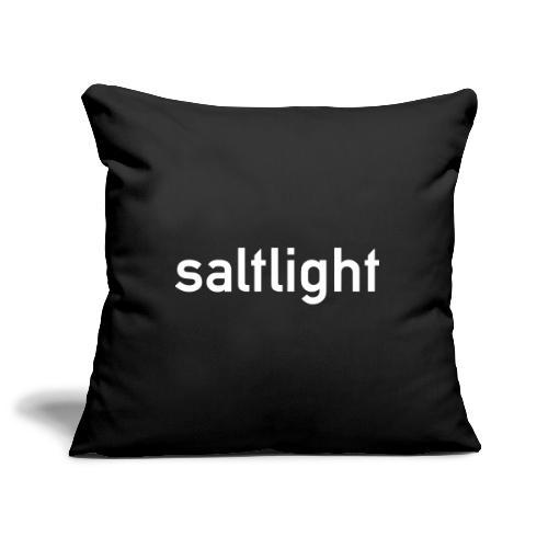 Saltlight WHITE - Sofa pillowcase 17,3'' x 17,3'' (45 x 45 cm)