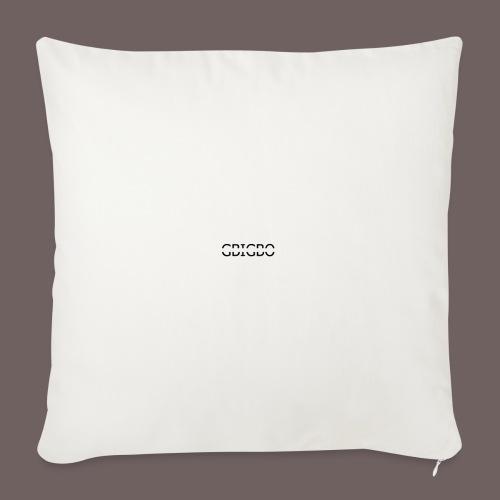 GBIGBO zjebeezjeboo - Fun - Packman 01 - Housse de coussin décorative 45x 45cm