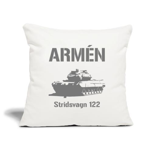 ARMÉN - Stridsvagn 122 - Soffkuddsöverdrag, 45 x 45 cm