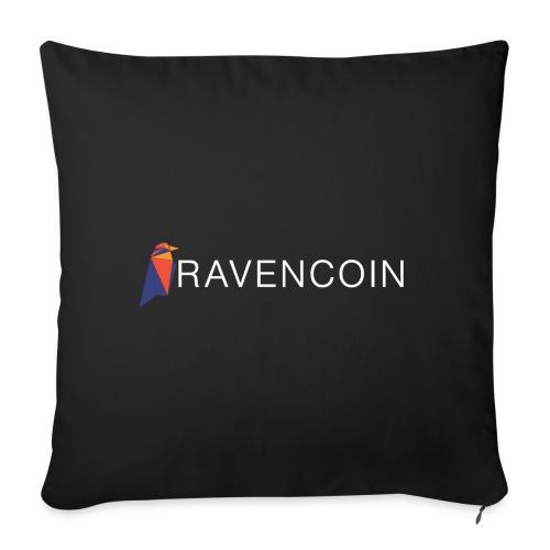 Cryptcurrency - Ravencoin - Sofakissenbezug 44 x 44 cm