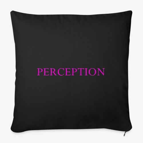 PERCEPTION CLOTHES ROSE - Housse de coussin décorative 45 x 45 cm