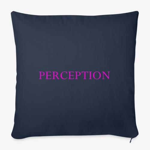 PERCEPTION CLOTHES ROSE - Housse de coussin décorative 45x 45cm