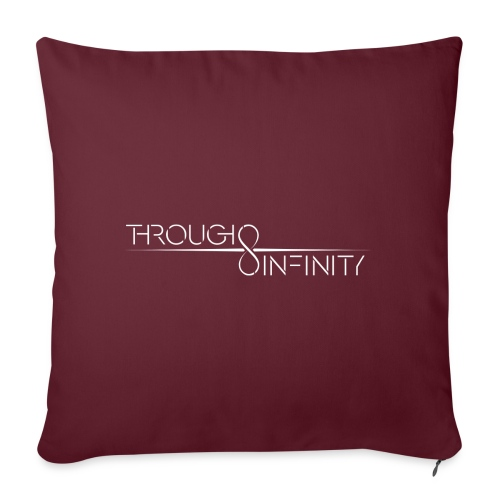 TI Logo White - Sofa pillowcase 17,3'' x 17,3'' (45 x 45 cm)