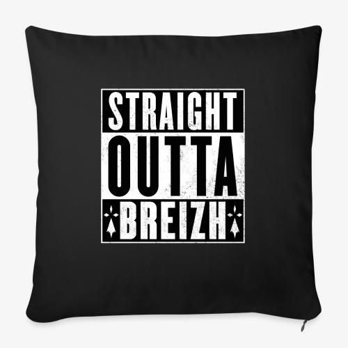 Straight Outta BZH - Housse de coussin décorative 45x 45cm