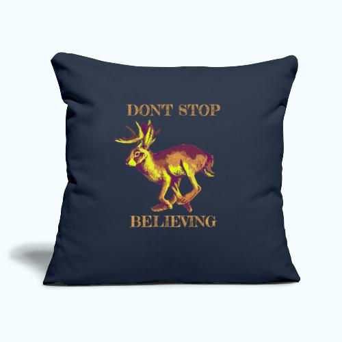 Wolpertinger lives - Sofa pillowcase 17,3'' x 17,3'' (45 x 45 cm)