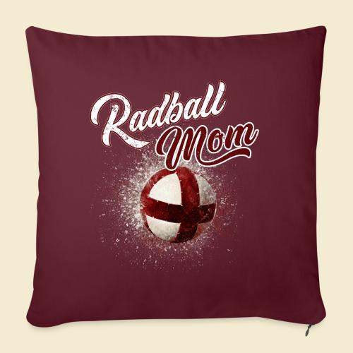 Radball Mom - Sofakissenbezug 44 x 44 cm