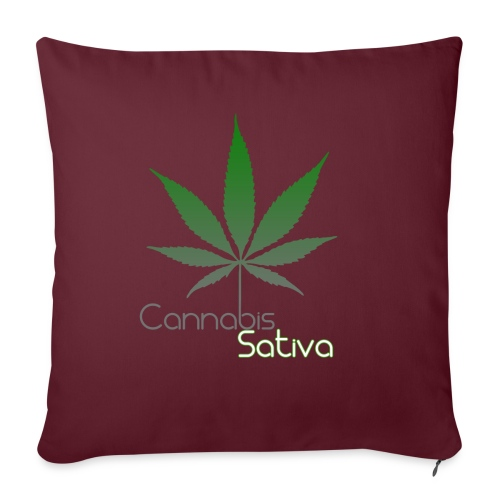 Cannabis Sativa CBD - Sofakissenbezug 44 x 44 cm
