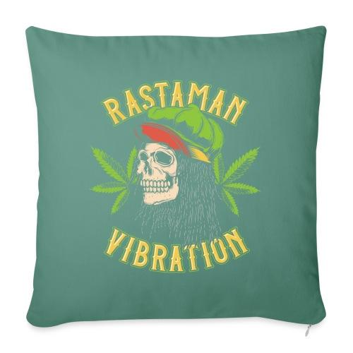 Rastaman - Cannabis - Sofakissenbezug 44 x 44 cm