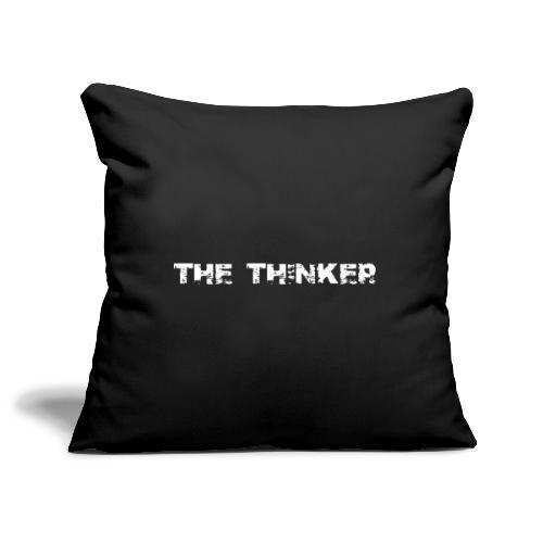the thinker der Denker - Sofakissenbezug 44 x 44 cm