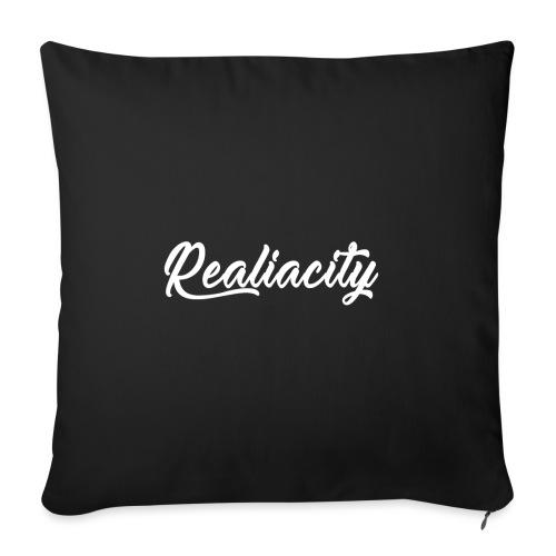 Realiacity Logo - Funda de cojín, 45 x 45 cm