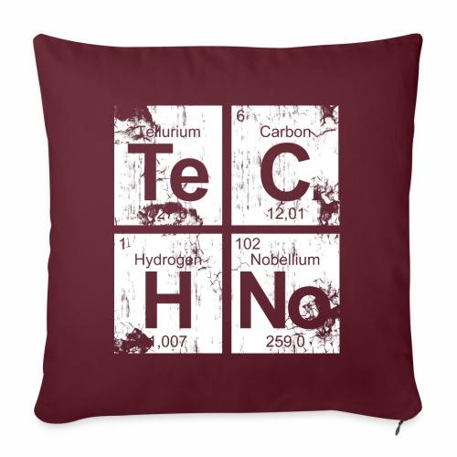 Dirty Techno Chemie - Sofakissenbezug 44 x 44 cm