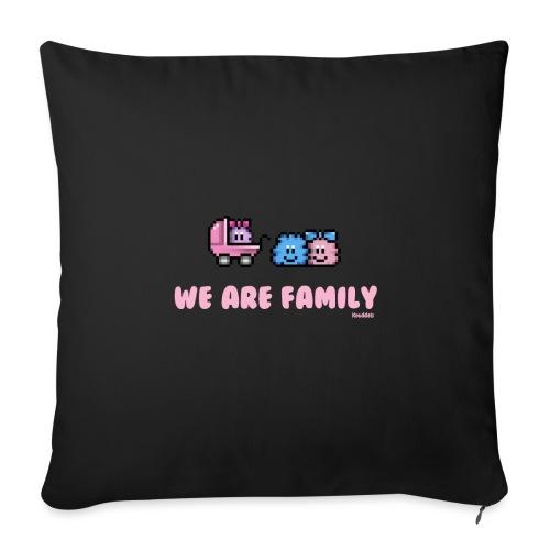 We Are Family - Girl - Sofakissenbezug 44 x 44 cm