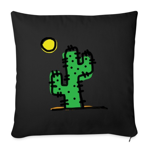 Cactus single - Copricuscino per divano, 45 x 45 cm