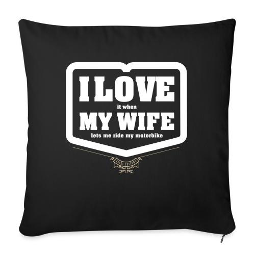 Kabes Valentine - Sofa pillowcase 17,3'' x 17,3'' (45 x 45 cm)