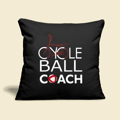 Radball | Cycle Ball Coach - Sofakissenbezug 44 x 44 cm