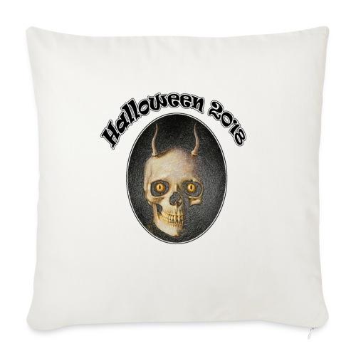Halloween 2018 Horned Devil Skull - Sofa pillowcase 17,3'' x 17,3'' (45 x 45 cm)