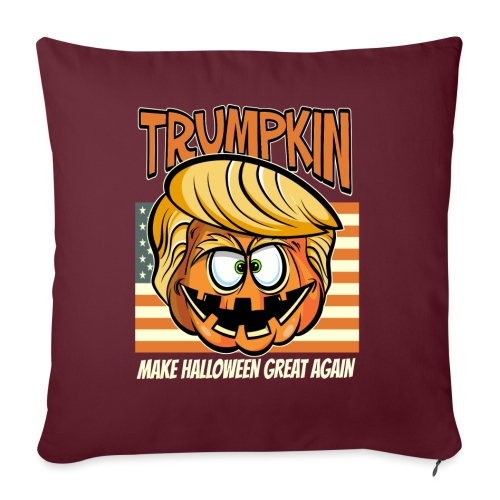 Trumpkin Donald Trump Halloween - Sofakissenbezug 44 x 44 cm