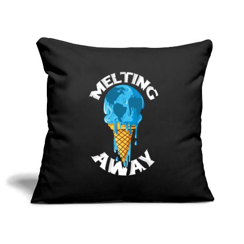 Our World Melting Away - Sofa pillowcase 17,3'' x 17,3'' (45 x 45 cm)