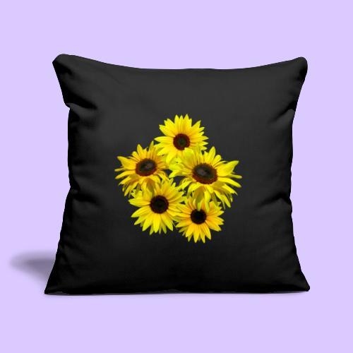 Sonnenblumenstrauss, Sonnenblume, Sonnenblumen - Sofakissenbezug 44 x 44 cm