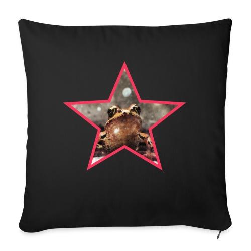 Frog Star - Poszewka na poduszkę 45 x 45 cm