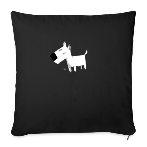 cane gif - Copricuscino per divano, 45 x 45 cm