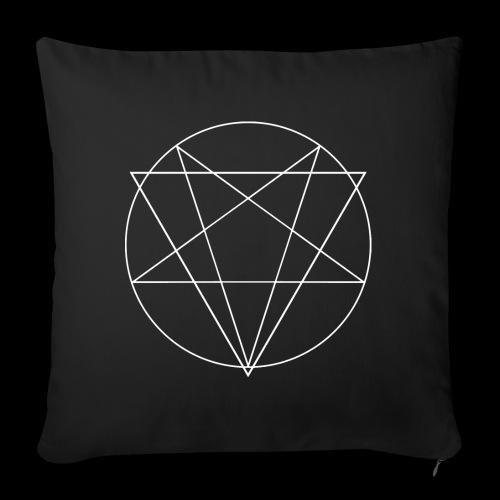 MANIFEST VIA SINISTRA BW - Sofa pillowcase 17,3'' x 17,3'' (45 x 45 cm)