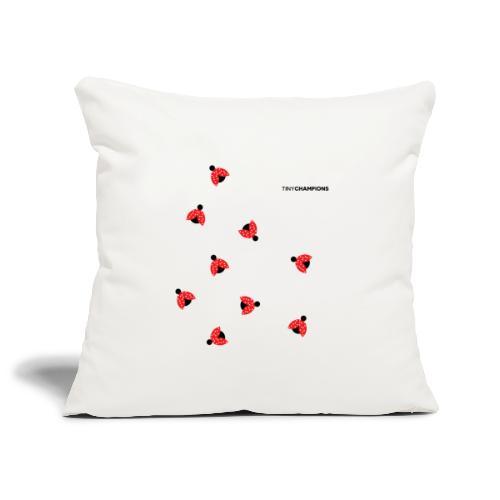 ladybird 2 design tc - Sofa pillowcase 17,3'' x 17,3'' (45 x 45 cm)