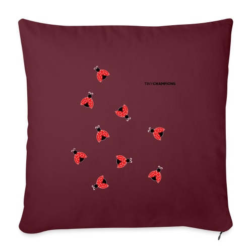 ladybird 2 design tc - Sofa pillowcase 17,3'' x 17,3'' (45 x 45 cm)