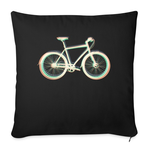 Fahrrad Bike Outdoor Fun Radsport Radtour Freiheit - Sofa pillowcase 17,3'' x 17,3'' (45 x 45 cm)