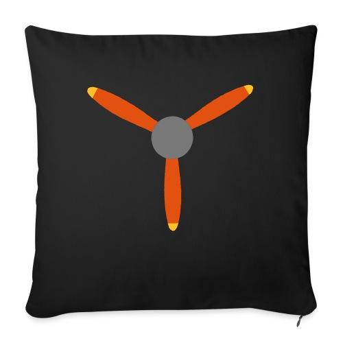 3 blade propeller - Sofa pillowcase 17,3'' x 17,3'' (45 x 45 cm)