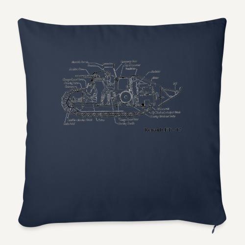 ft17 - Poszewka na poduszkę 45 x 45 cm