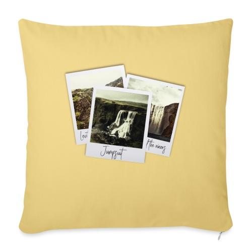 First three singles - Sofa pillowcase 17,3'' x 17,3'' (45 x 45 cm)