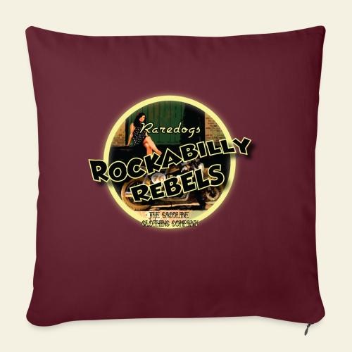 rockabilly rebels pinup - Pudebetræk 45 x 45 cm