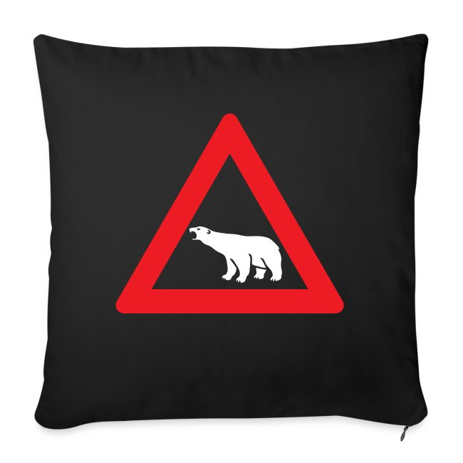 Isbjørn fareskilt (fra Det norske plagg)