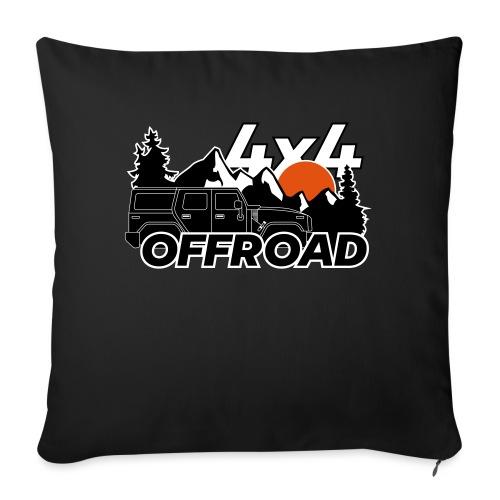 Offroad 4x4 Jeep Logo - Sofakissenbezug 44 x 44 cm